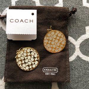 AUTH! Coach earrings